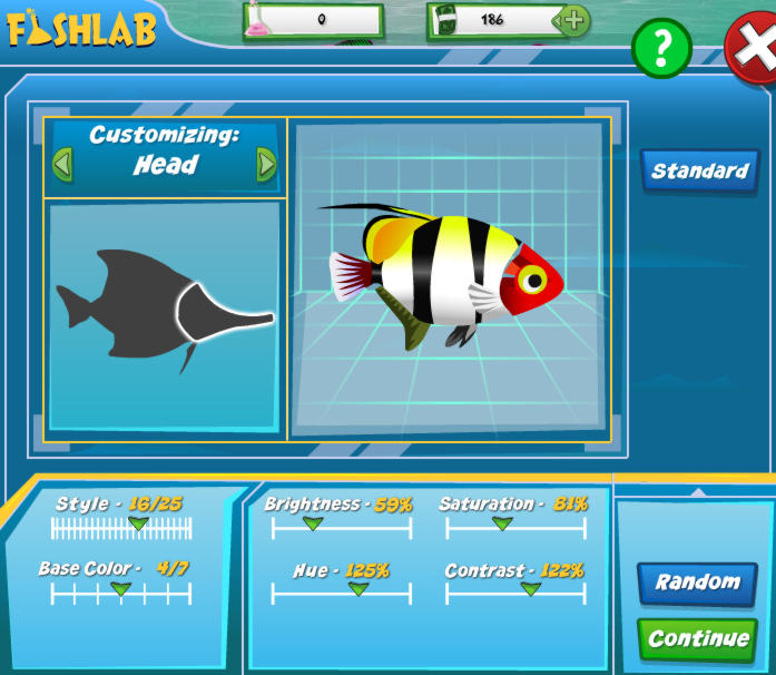 Fish creation fish lab fish world game guide faq for Fish world game