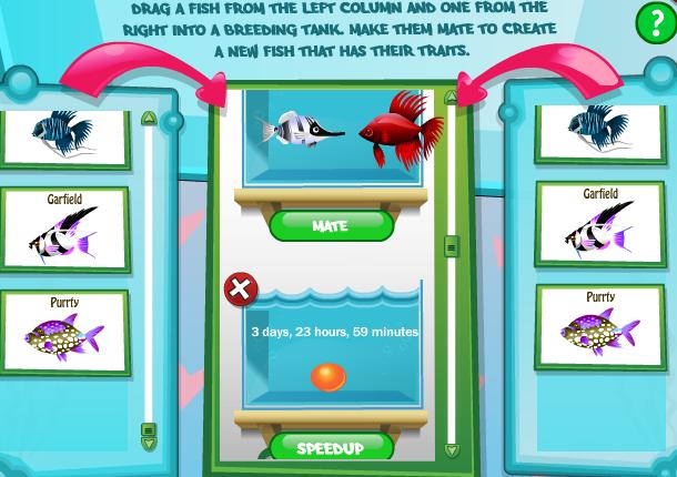 Fish creation breeding fish world game guide faq for Betta fish game